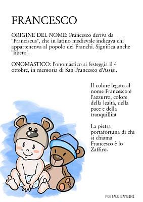 francesco origine nome onomastico