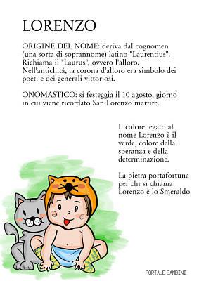 lorenzo origine nome significato onomastico