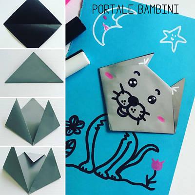 origami semplici gatto