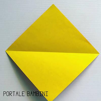 origami fiore facile