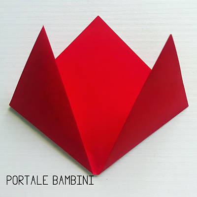 origami fiore facile 2
