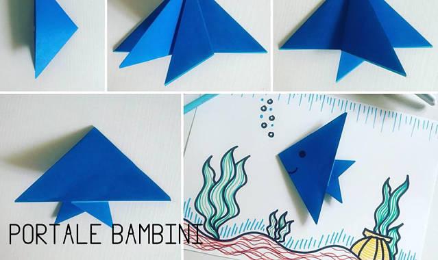 Origami Pesce Guida Passo A Passo Portale Bambini