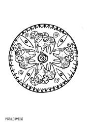 mandala zodiaco ariete