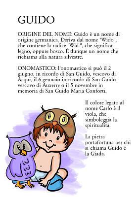 guido origine significato nome onomastico