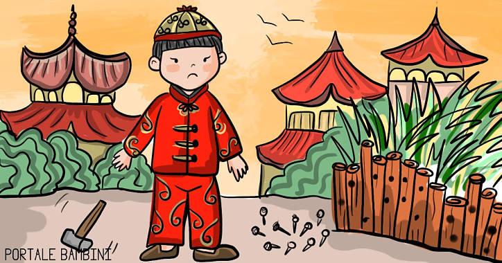 storie e fiabe per bambini il ragazzo e lo steccato di bambù