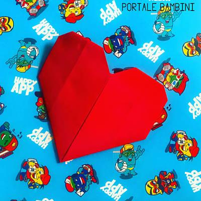 origami cuore