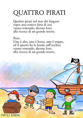 quattro pirati nel mar dei sargassi