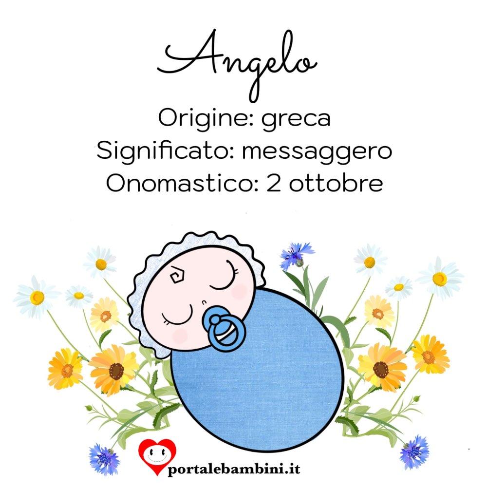 angelo origine e significato del nome
