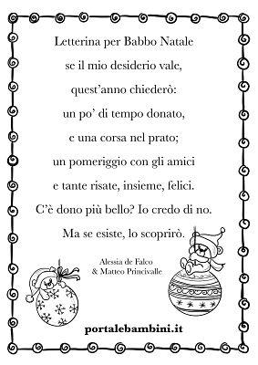 Poesie Di Natale In Rima.Poesie E Filastrocche Di Natale Portalebambini It