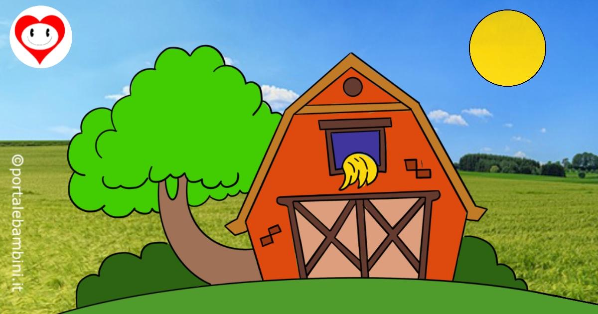 fattoria da colorare