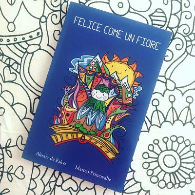 felice come un fiore libro portale bambini