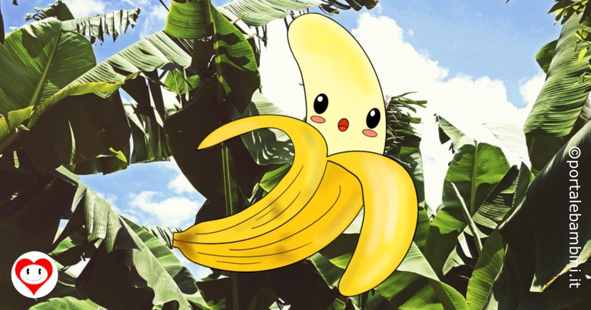 banana da colorare