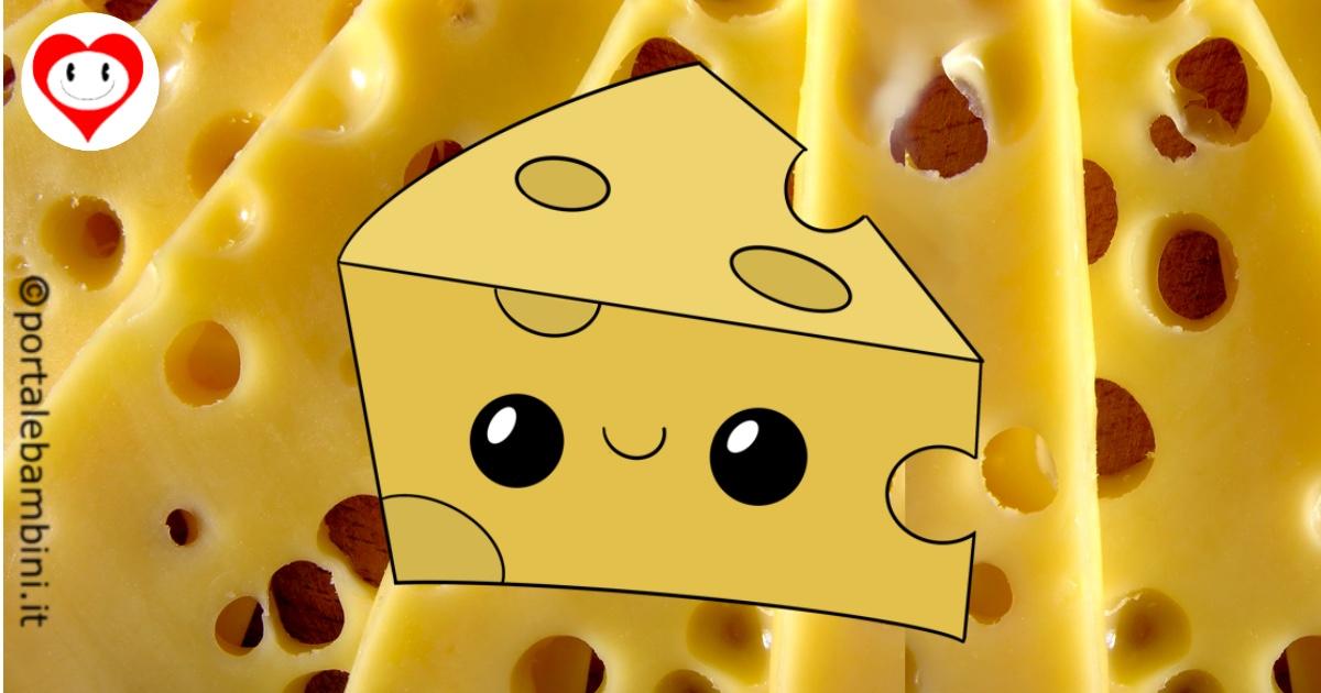 formaggio da colorare