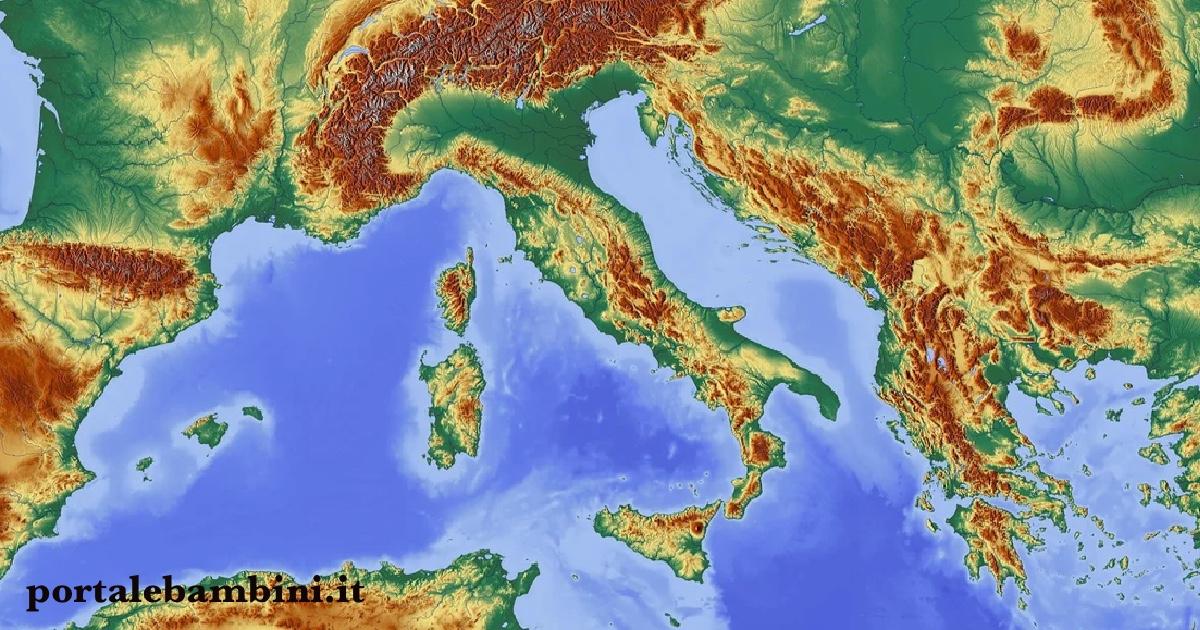 Cartina Italia Politica Vuota.Cartine Mute Dell Italia Fisica E Politica Portalebambini It