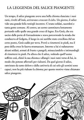 storie per bambini la leggenda del salice piangente