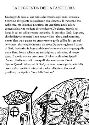 storie per bambini leggenda della passiflora