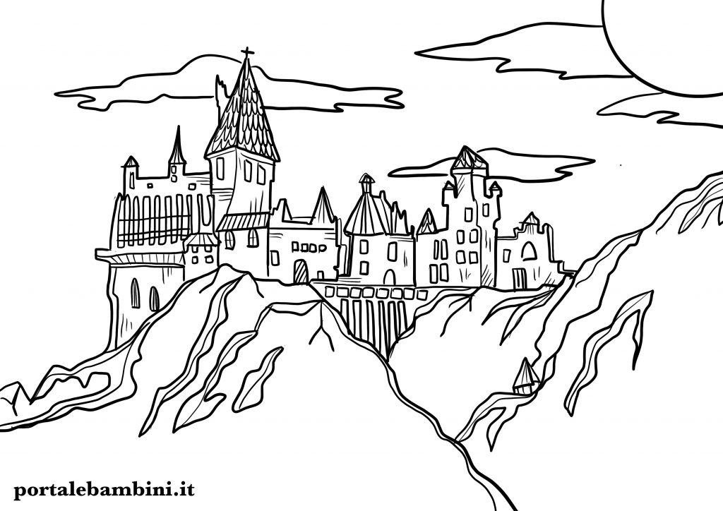 castello da colorare 5