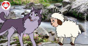 il lupo e l'agnello