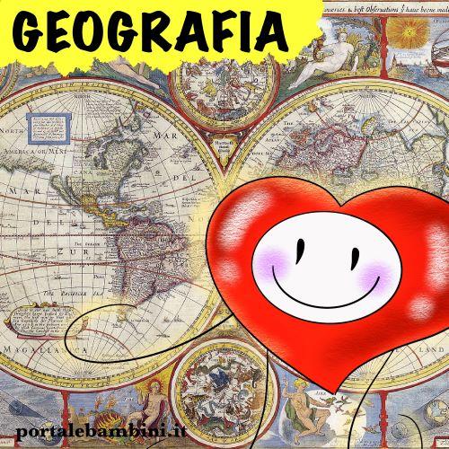 schede didattiche scuola primaria geografia