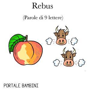 Rebus facili per bambini portale bambini for Rebus facili da stampare