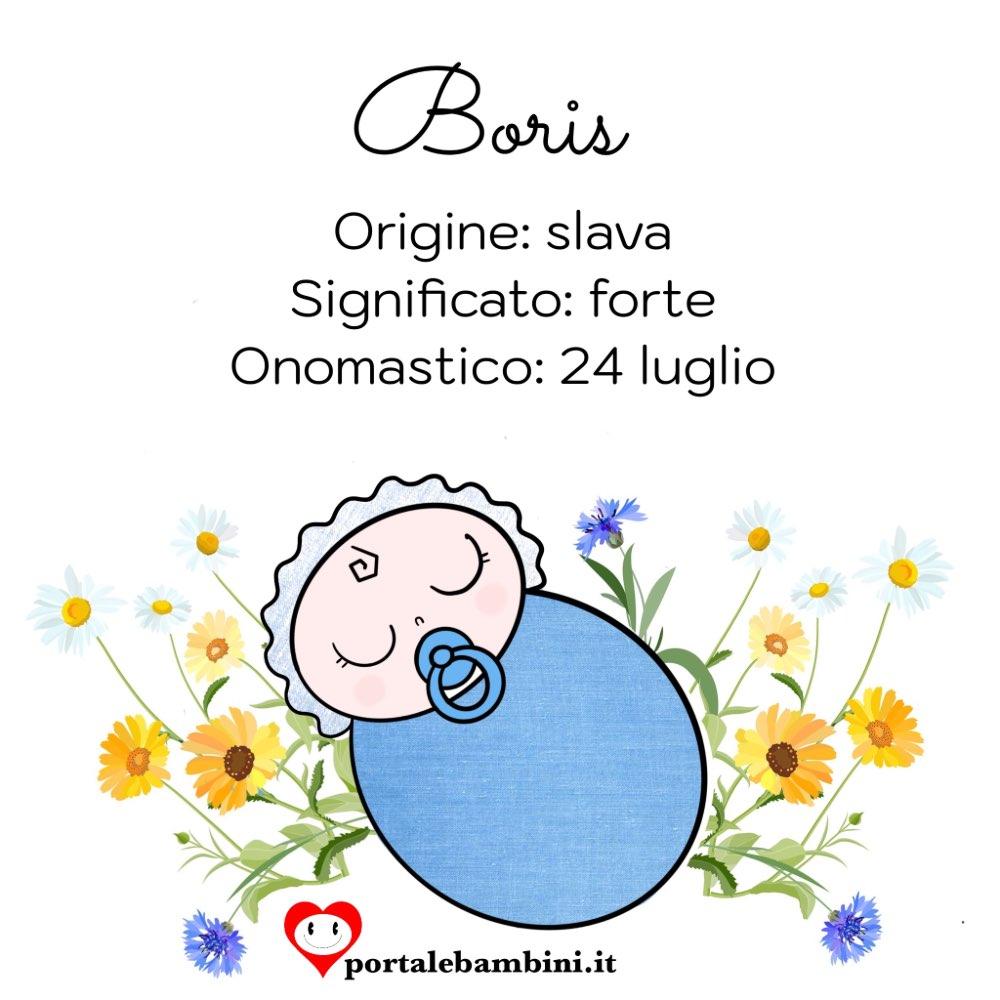 boris origine e significato del nome