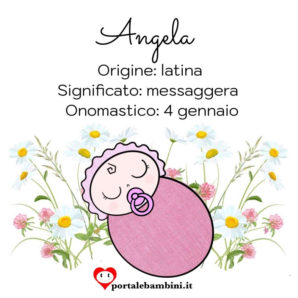 angela origine e significato del nome