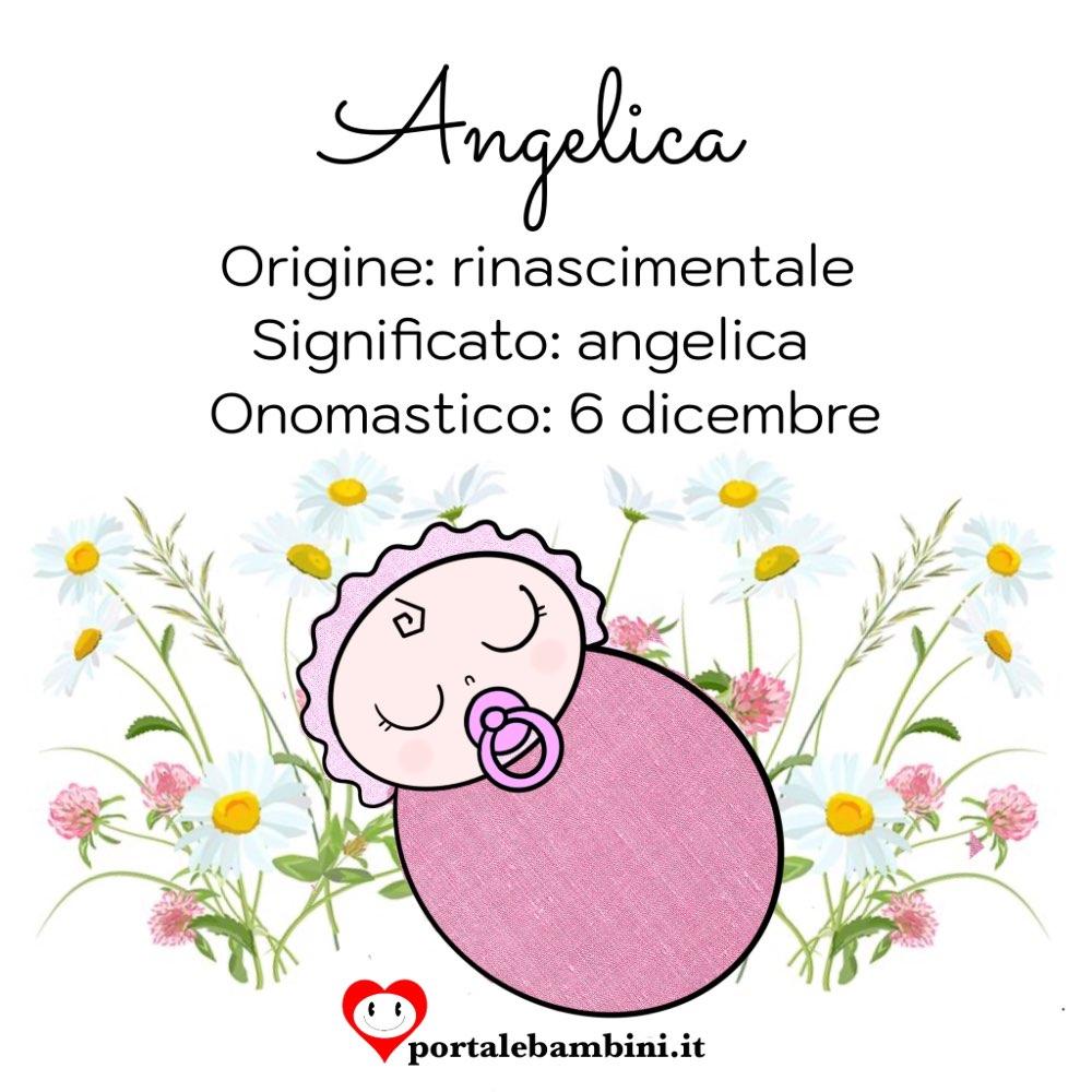 angelica origine e significato del nome