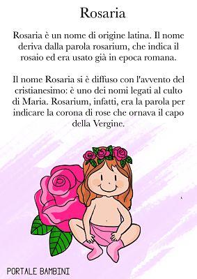rosaria significato del nome