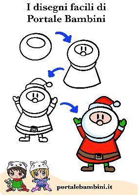 Disegni Di Natale Semplici.Disegni Facili Da Copiare Di Natale Ardusat Org