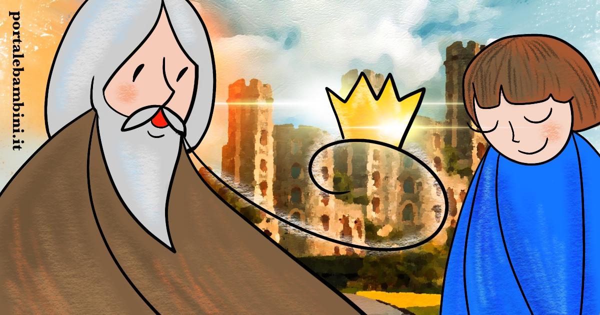 il vecchio re e l'arciere