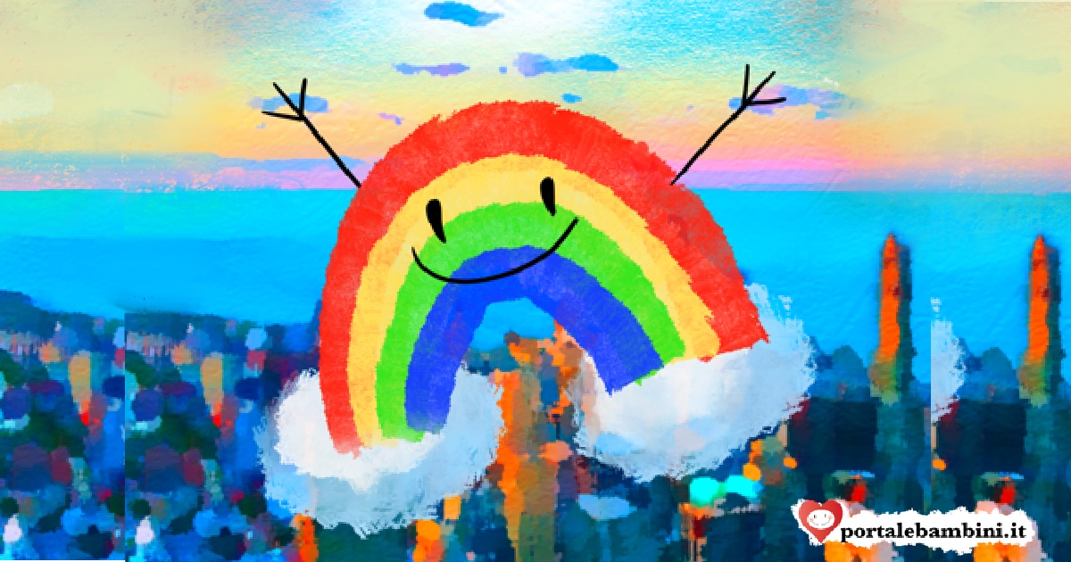 l'arcobaleno colorino e la magia dei colori