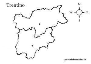 Trentino Alto Adige Cartina Fisica E Politica.Il Trentino Alto Adige Schede Per La Scuola Primaria Portalebambini It