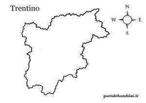 Cartina Muta Del Trentino Alto Adige Da Stampare.Il Trentino Alto Adige Schede Per La Scuola Primaria Portalebambini It