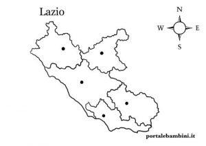 Cartina Lazio.Il Lazio Approfondimenti E Materiale Didattico Portalebambini It