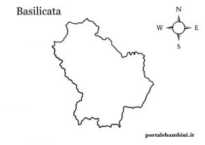 Cartina Basilicata.La Basilicata Approfondimenti E Materiale Didattico Portalebambini It