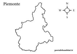 La Cartina Del Piemonte.Il Piemonte Approfondimenti Quiz E Materiale Didattico Portalebambini It
