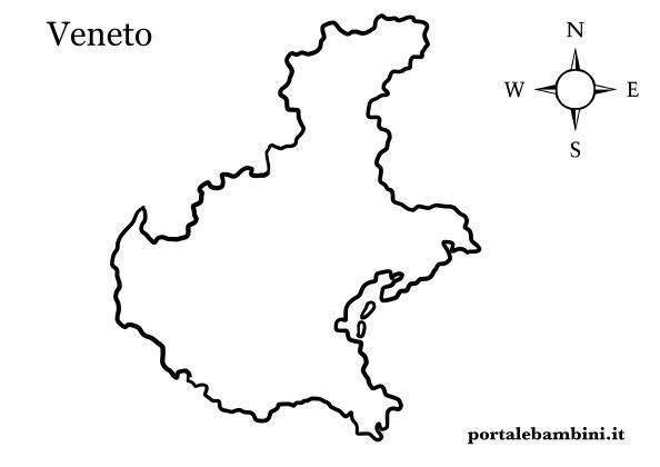 Cartina Del Veneto E Friuli.Il Veneto Approfondimenti Quiz E Materiale Didattico Portalebambini It