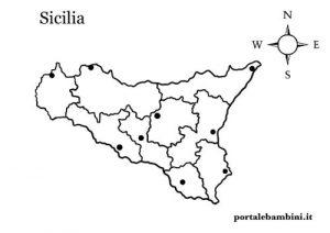 Stampa Cartina Sicilia.La Sicilia Approfondimenti Quiz E Materiale Didattico Portalebambini It