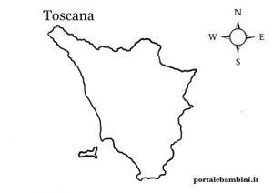 Cartina Toscana Dettagliata Da Stampare.La Toscana Approfondimenti Quiz E Materiale Didattico Portalebambini It
