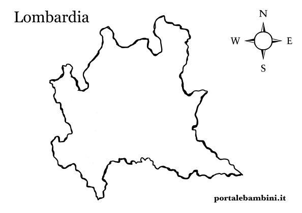 Cartina Muta Lombardia Da Completare.La Lombardia Approfondimenti E Materiale Didattico Portalebambini It