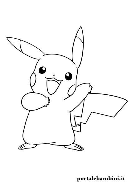 cartoni animati da colorare pokemon
