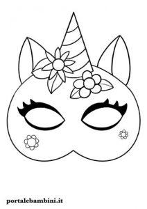 Maschere Da Colorare E Ritagliare Carnevale Portalebambini It