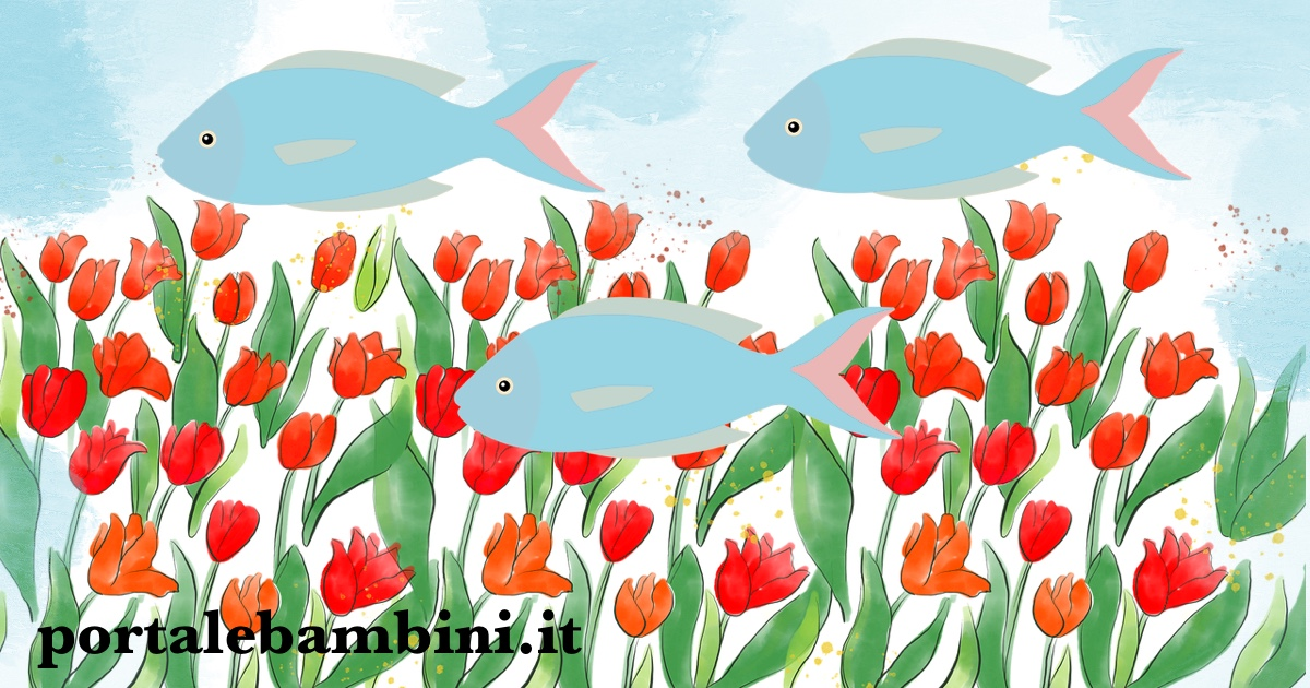 filastrocche sul pesce d'aprile