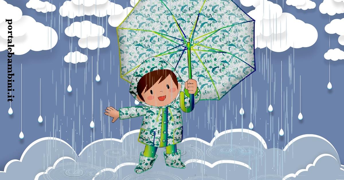 filastrocche sulla pioggia