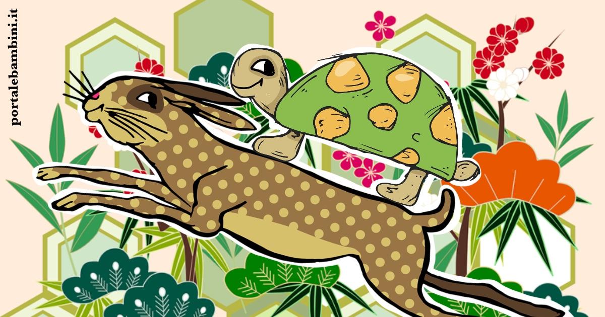 la lepre e la tartaruga favola di Esopo