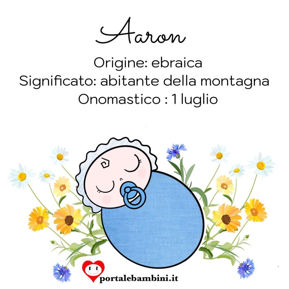 aaron origine e significato del nome