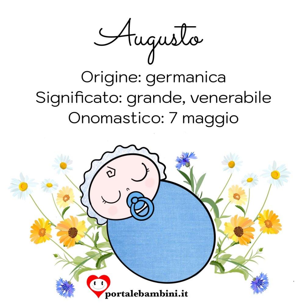 augusto origine e significato del nome