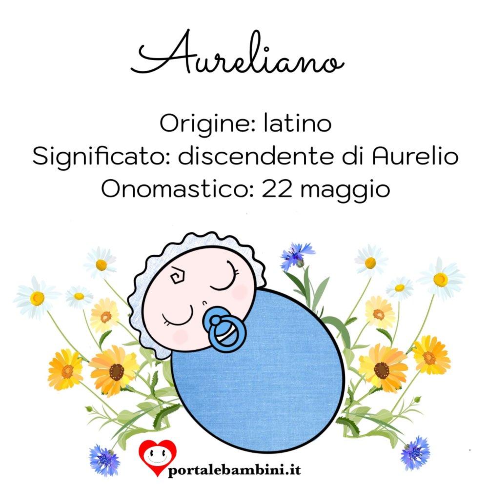 aureliano origine e significato del nome