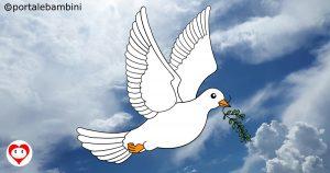 colombe da colorare