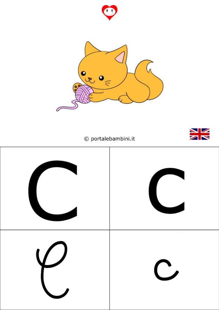 alfabetiere inglese da stampare c